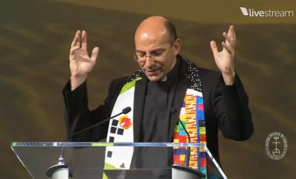 Rev Mitri Raheb of Bethlehem at UCC Synod 2015