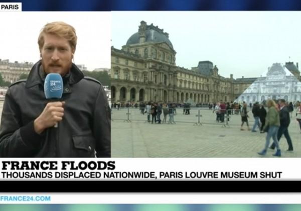Louvre Shut Down