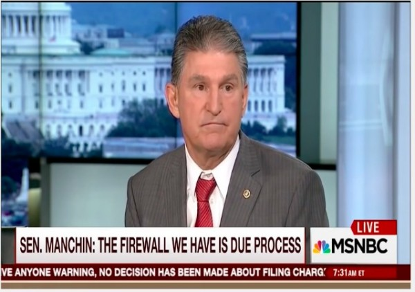 Manchin Due Process