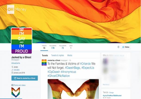 Hackers Porn ISIS Gay Pride