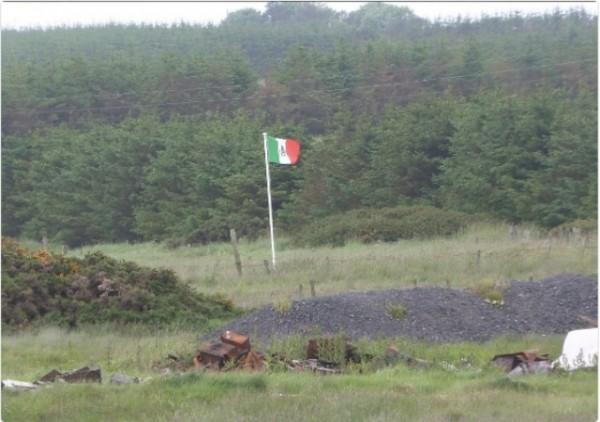 Mexican Flag Trump Scotland