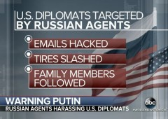 Russia Threatens U.S. Diplomats