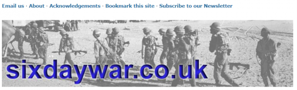 Six Day War website