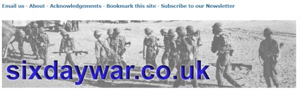 Six Day War website