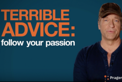 mike rowe graduation advice don't follow your passion dirty jobs video prager univeristy