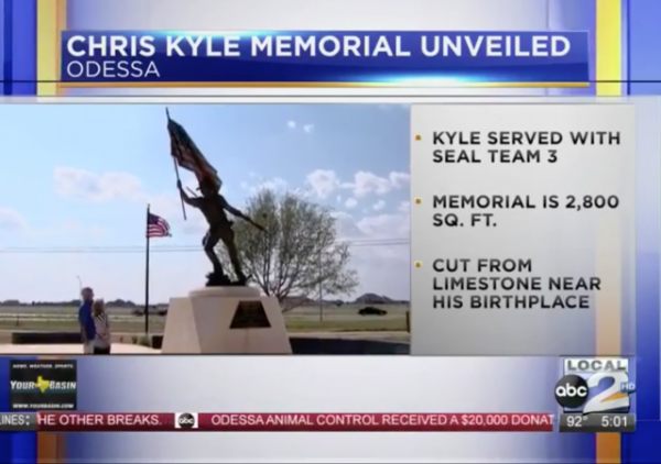 'American Sniper' Memorial for Chris Kyle Unveiled in West Texas