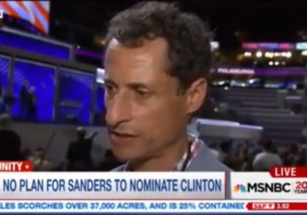 Anthony Weiner on Hillary
