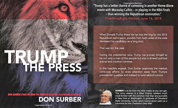 Don Surber Trump the Press Front and Back Cover