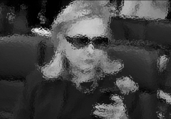 Hillary Cell Phone Blurred