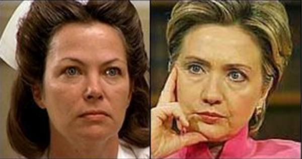 Hillary Clinton Nurse Ratched