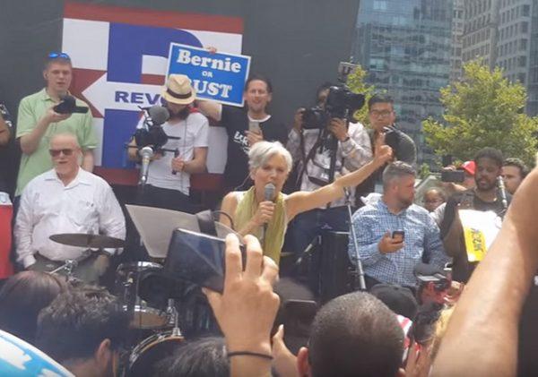 Jill Stein at DNC