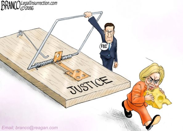 Hillary Escapes Justice