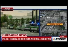 Munich shopping mall shooting msnbc w border