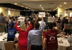 Open Thread Democrats in Turmoil, Convention Chaos DNC Debbie wasserman shultz booed