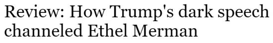 Orlando Sentinel Trump Dark Speech