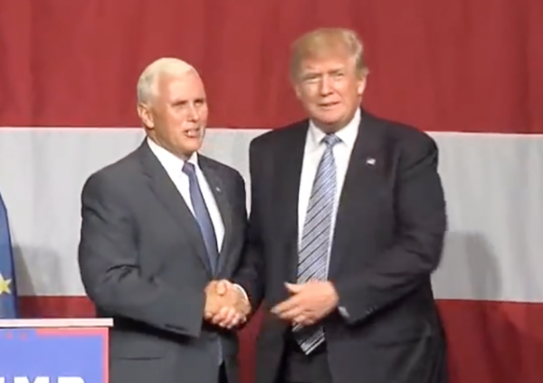 REPORTS Trump-Pence Ticket it is!