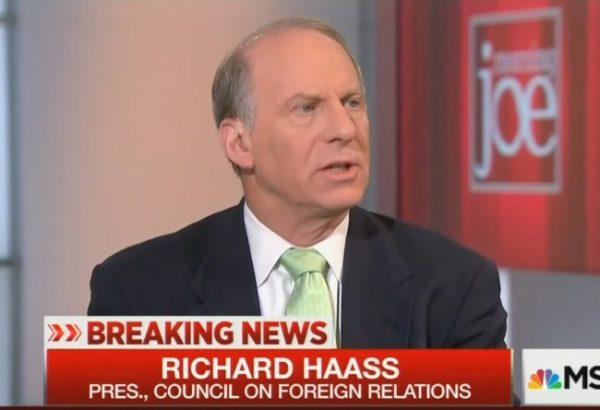 Richard Haass MJ 7-15-16