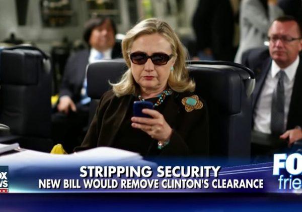 Hillary Clinton Security
