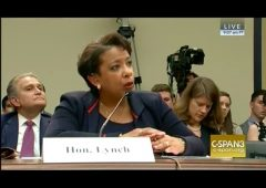 Loretta Lynch Testifies