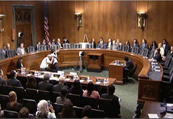 Senate Hearing on Obama admin willful blindness re terrorism