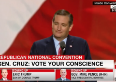 Ted Cruz Booed Off RNC Stage For Refusing to Explicitly Endorse Trump