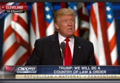 Trump Acceptance Speech Law and Order