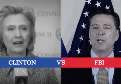 hillary clinton email lies fbi comey investigation democrat classified information