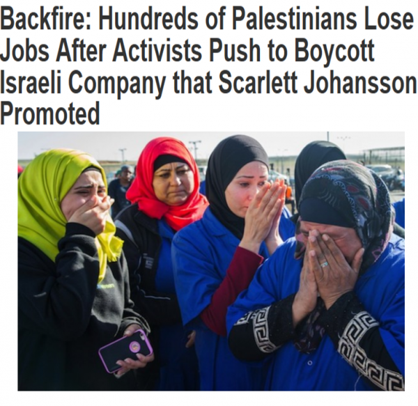 In 2014, the SodaStream factory relocated to the Negev following BDS pressure