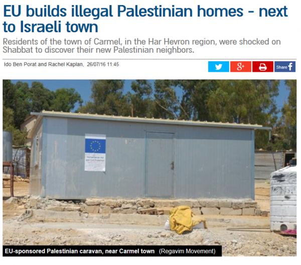 EU building illegally