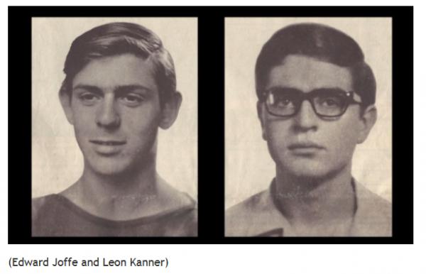 Hebrew University students murdered in 1969
