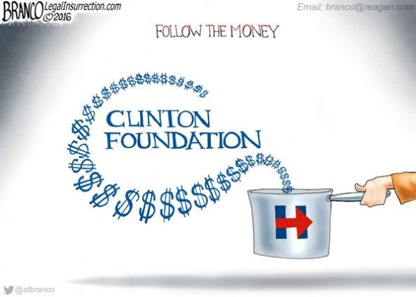 Follow the Clinton Money