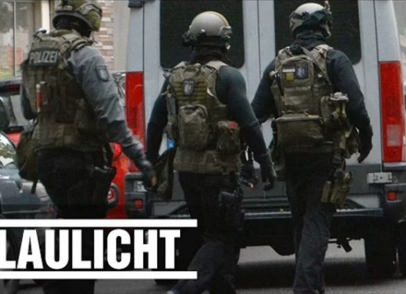 German Police raids ISIS Hideouts