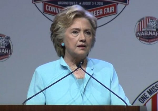 Hillary press conference