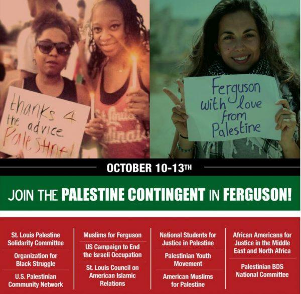 Ferguson Palestine contingent