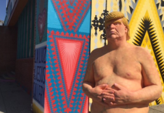 LI #05 Naked Trump Statue