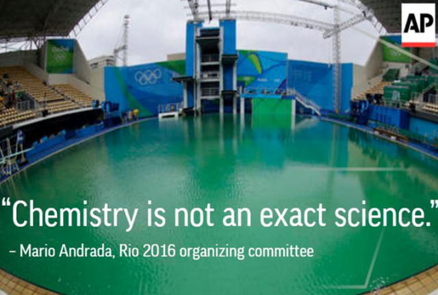 Swimming Pool Water Contamination : Rio s contaminated waters claim first victim