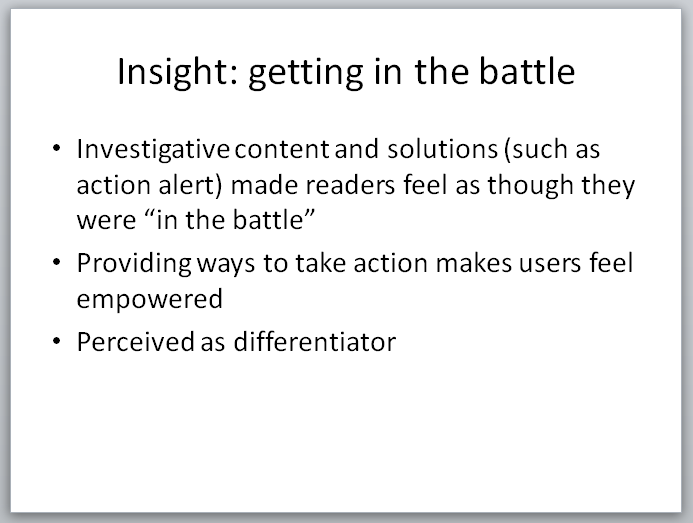 Legal Insurrection Research - Slide - Getting Into The Battle