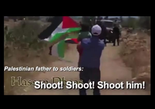 PalMedia Watch Palestinian Child Father Shoot Him w border