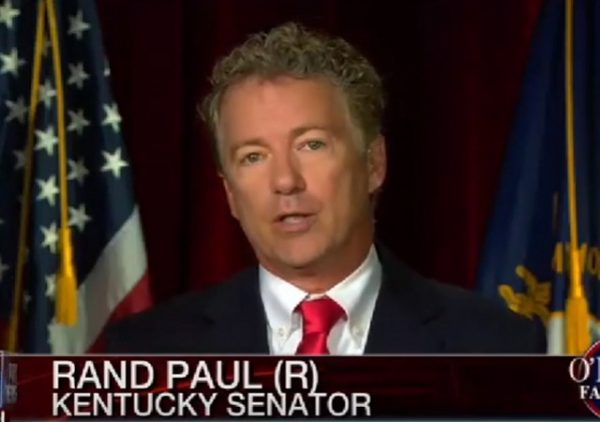 Rand Paul Hillary Clinton