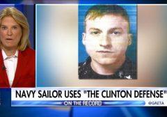 Sailor using Hillary defense
