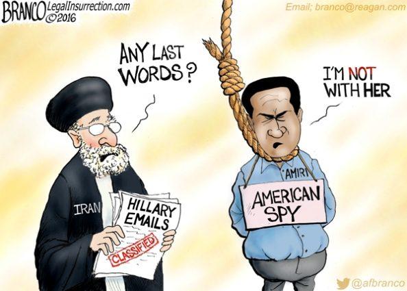 Iran Executes American Spy