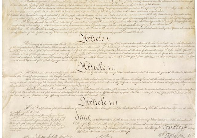 """ratification on the us constitution requires tedious process How can you say, """"we are wise, and the law of yahweh 1 is with us"""" [b]ehold, the lying pen of the scribes has made it into a lie (jeremiah 8:8."""