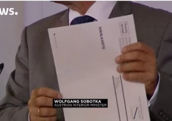Austria President Election Envelope