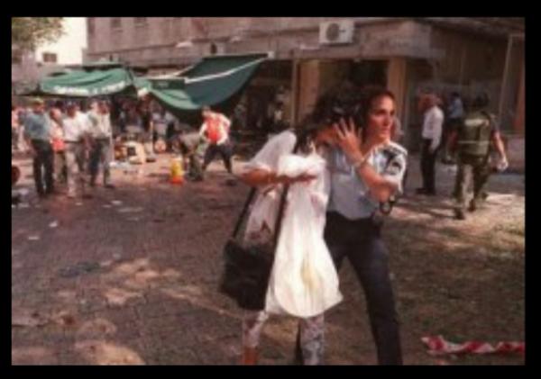 Ben Yehuda Market Bombing Jerusalem 1997 w border