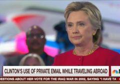 Hillary Clinton Morning Joe 9-8-16