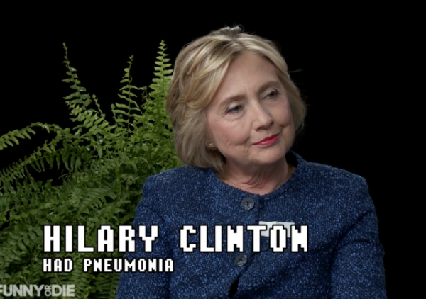 Hillary Joins Zach Galifianakis on 'Between Two Ferns'
