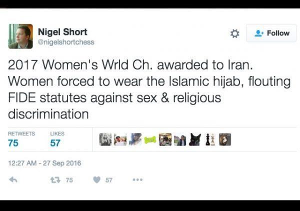 iran chess hijab