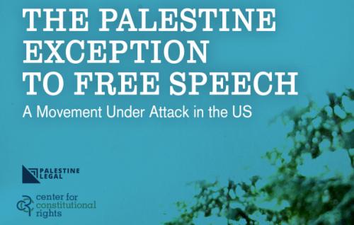 Palestine Legal - Free Speech Report Cover