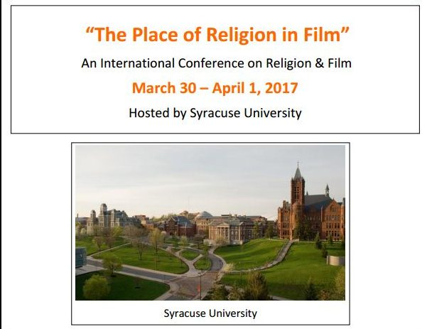 The Place of Religion In Film Call for Papers