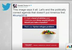 Trump, Jr. Skittles tweet